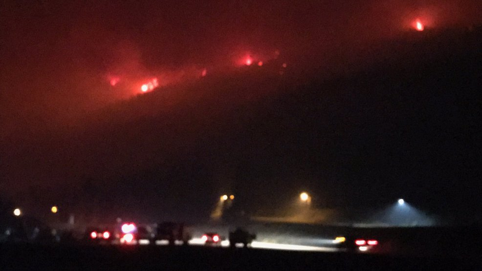 Norse Peak Fire Threatens Crystal Mountain Resort As Fire Grows To
