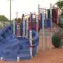 Toddler hospitalized after being pricked with dirty needle on playground