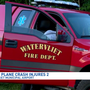 Plane crash in Watervliet injures two men