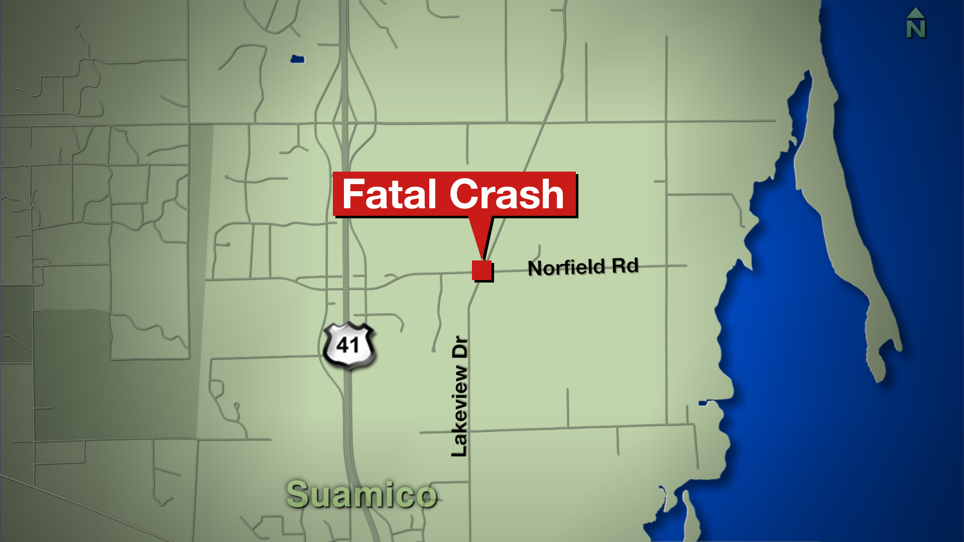 Fatal crash in Suamico on Lakeview Drive 4-20-17