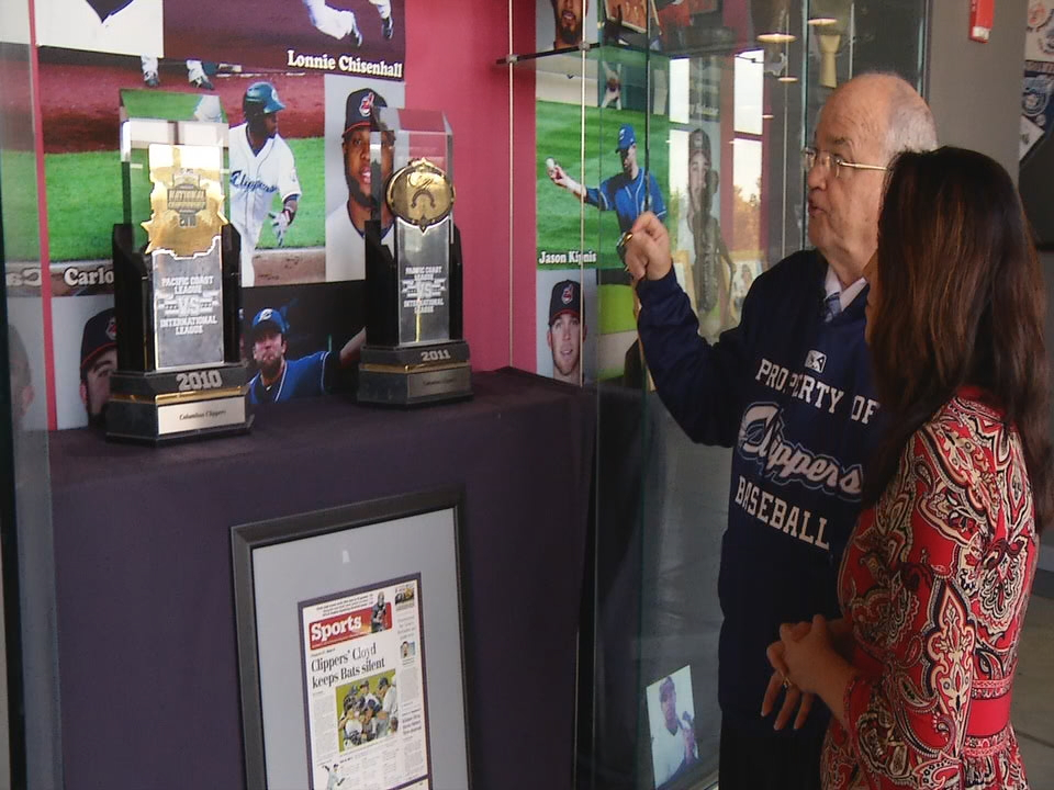 Clippers historian Joe Santry has fond memories of current Indians' stars time in Columbus. (WSYX/WTTE)
