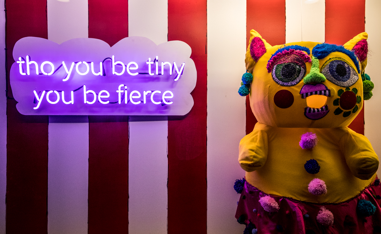 Pamachu and Tho You Be Tiny You Be Fierce / Image: Catherine Viox // Published: 3.4.20