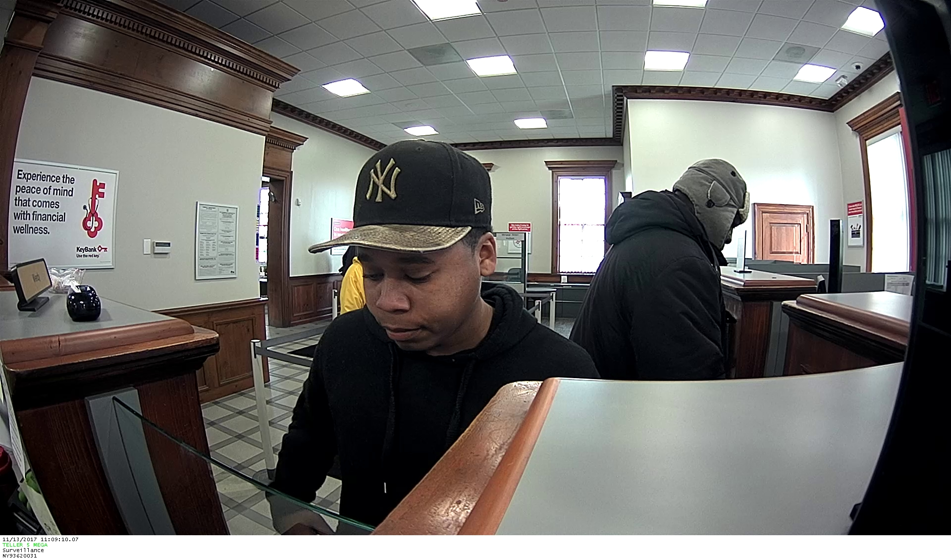 Police said the Key Bank on University Avenue was robbed around 11:10 a.m. (Photo: RPD)