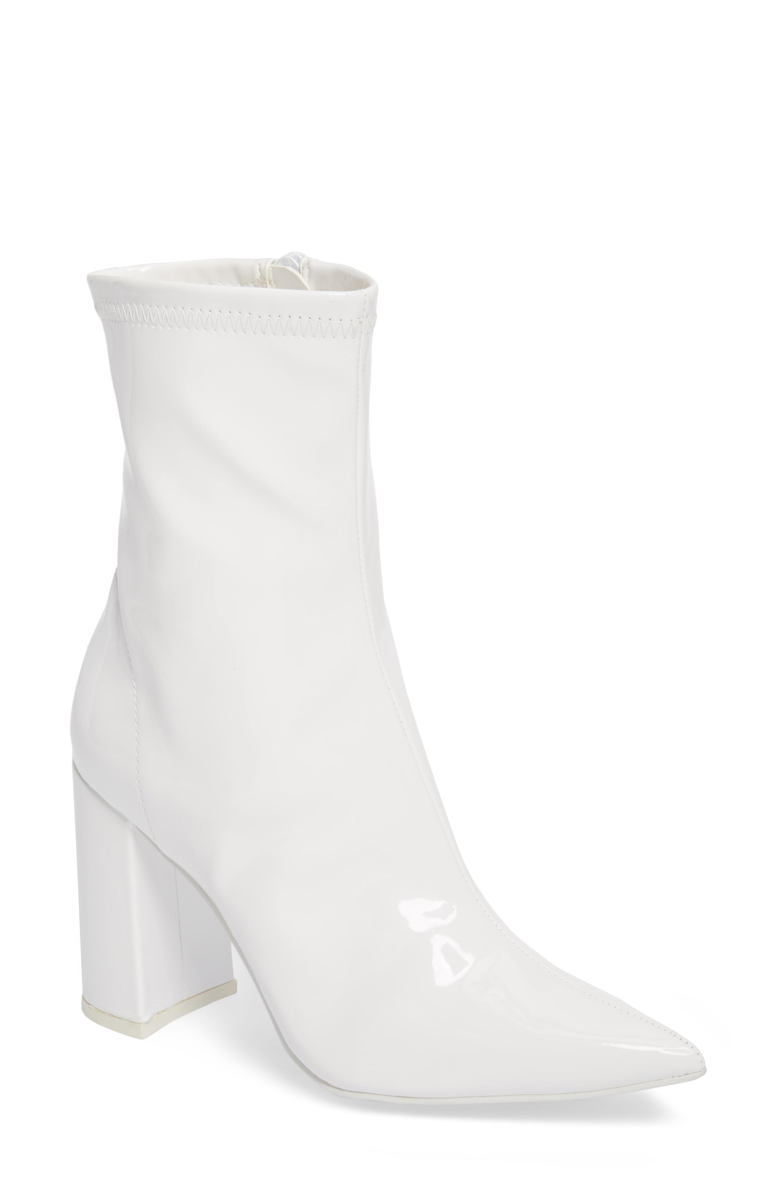 Jeffrey Campbell, Siren Bootie, $124.95,{&amp;nbsp;}can be purchased at Nordstrom.com{&amp;nbsp;}(Image: Courtesy Nordstrom)<p></p>