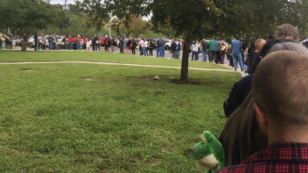 Mystic Park early voting (SBG photo)