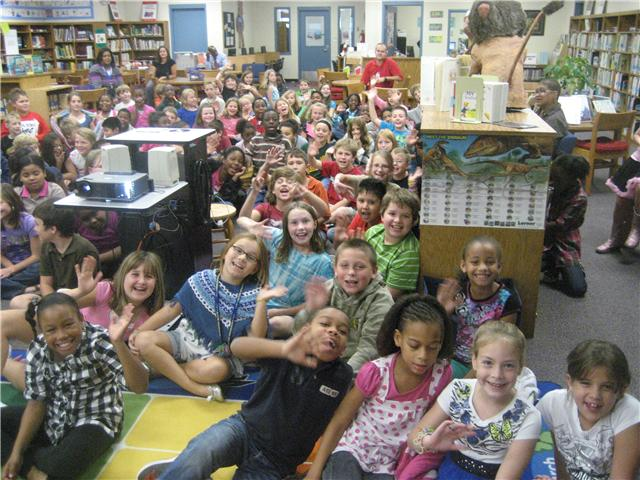 10/26/10...Bethel-Hanberry Elementary Fourth Graders