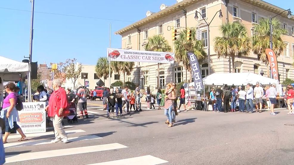 14th annual pecan festival draws thousands wpde for Pool show florence sc