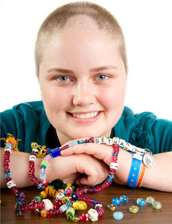 Bethany Elliott, of Bakersfield, Calif., is seen in a photo provided by St. Jude Children's Research Hospital. Elliott was treated by St. Jude for a rare brain tumor and now works as a nurse at a children's hospital at Stanford.