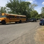 Police search for BB gun shooting suspect who shattered school bus window