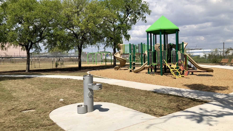 A neglected Austin park reopens giving kids a safe place to play