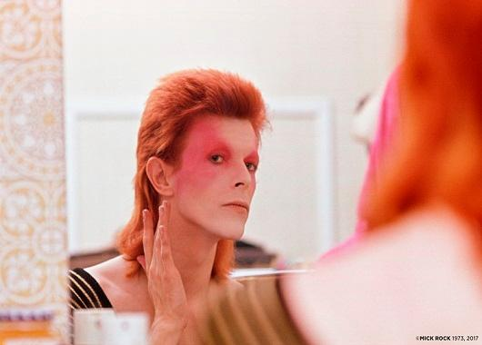 Ziggy Stardust by Mick Rock 1973. (Image: Mick Rock)