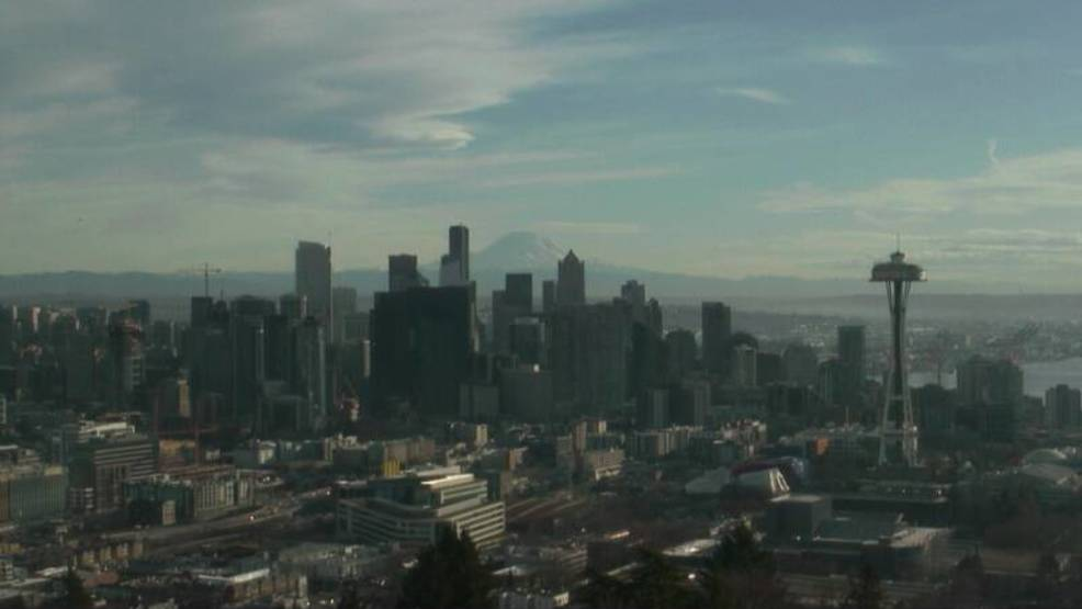 This is winter?!? Seattle ties all-time January record high at Sea-Tac with 64 degrees