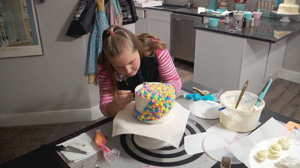 Inside The Story Young Utah Baker S Cake Business Is On The Rise Kutv