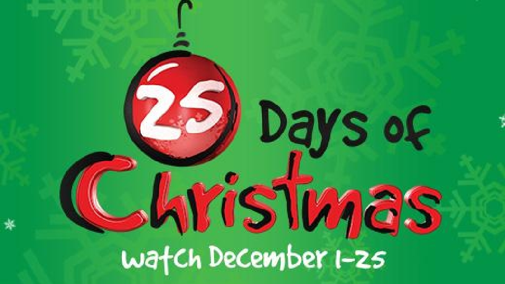 freeforms 25 days of christmas tv schedule for 2016