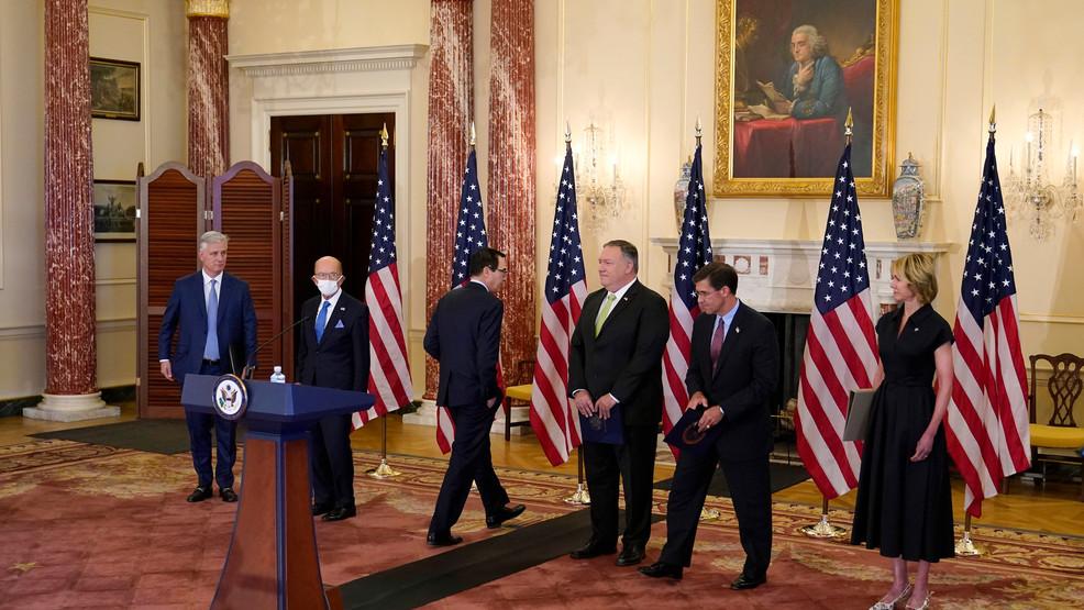 US officials press Iran sanctions as European allies balk