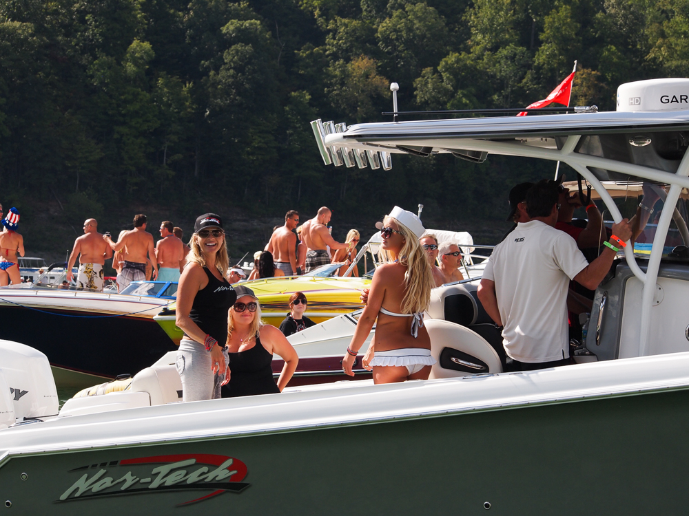 This Years Lake Cumberland Poker Run And All The Accompanying Revelry At Harmon Creek Party