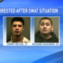 Police release names of pair arrested following overnight SWAT situation