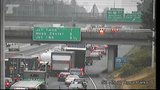 Police: Interstate 5 lanes in Portland re-open after truck leaks food grease
