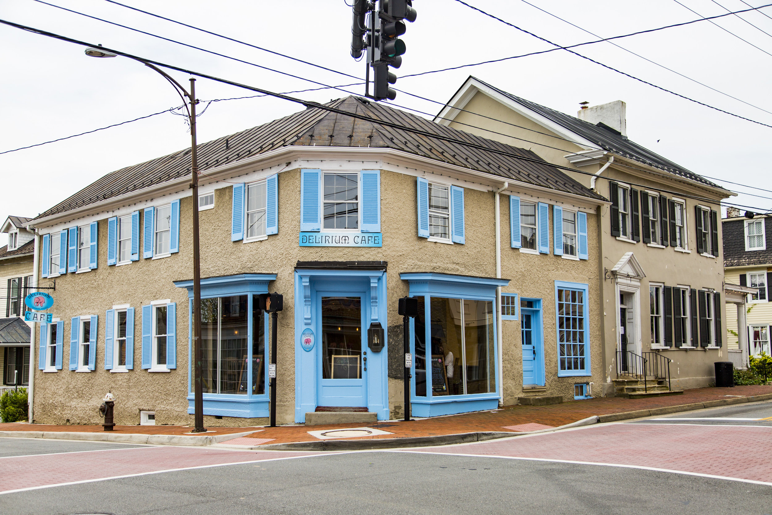 Delirium Café USA in downtown Leesburg. (Image: Alex Mangione Photography)