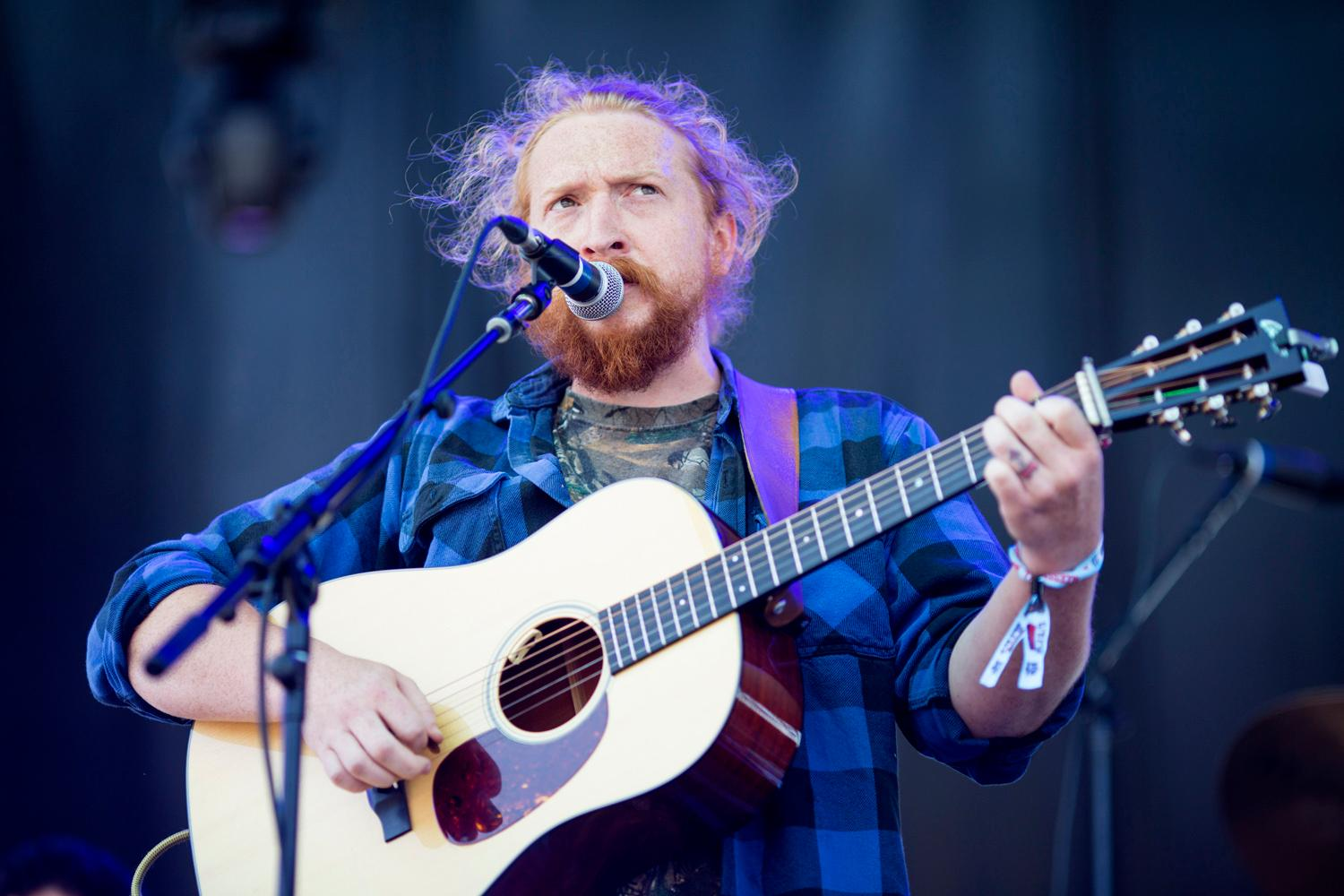 Tyler Childers performs at the second day of the annual Sasquatch! Music Festival. The three-day festival runs throughout the Memorial Day Weekend, from May 25-27, 2018. (Sy Bean / Seattle Refined)