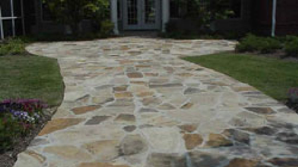 flagstone paths and patios mail tribune