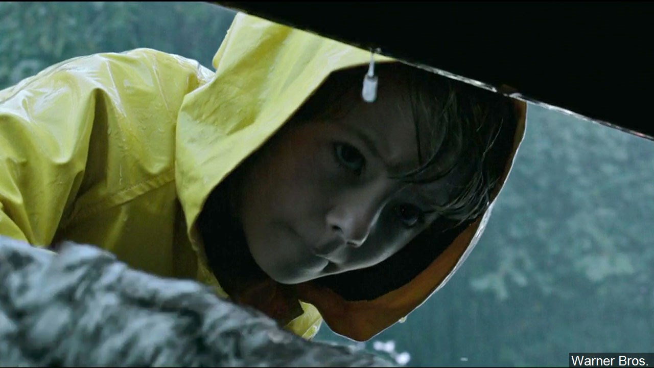 "Jackson Robert Scott in his role as Georgie from the movie ""It"" (Warner Bros.)"