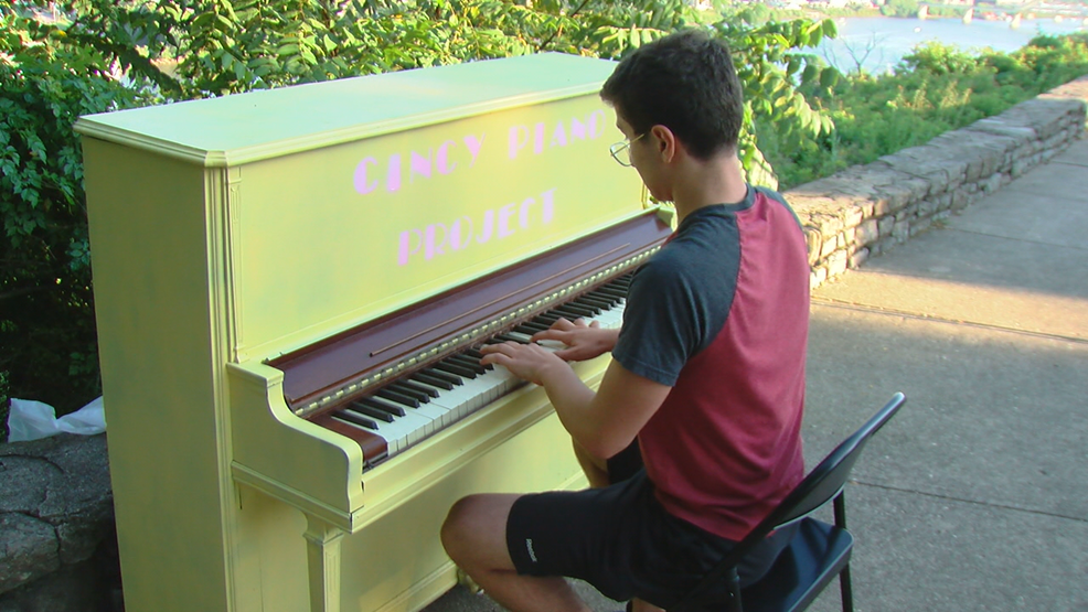 Cincy Piano Project: Chords ring out across city on outdoor