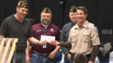 Tulsa VFW donates $1,000 to local Cub Scouts