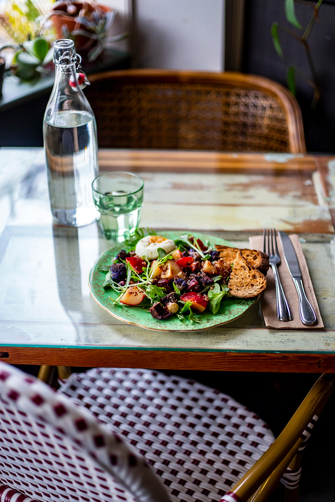 "The dining tables in Cafe Mia were made by her out of old doors, giving the decor a beautiful and rustic European vibe. Cafe Mia features seasonal, locally-sourced and ethical cuisine - every dish is prepared in house by Mia herself. Cafe Mia is tucked away near the West Seattle Junction on SW Oregon Street. The perfect spot for brunch after hitting the farmers market on Sunday! Find them on Instagram{&nbsp;}<a  href=""https://www.instagram.com/cafe.mia/?hl=en"" target=""_blank"" title=""https://www.instagram.com/cafe.mia/?hl=en"">@cafe.mia</a>. (Image:{&nbsp;}Samantha Witt / Seattle Refined)"