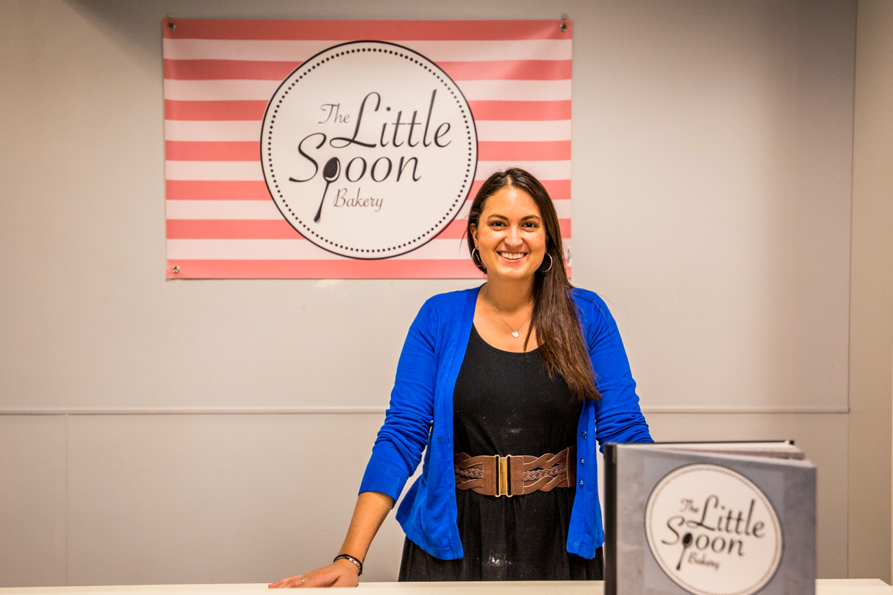 Courtney Augsback, owner of The Little Spoon Bakery / Image: Catherine Viox{ }// Published: 12.12.19