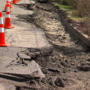 Wheeling council approves funds to fix road slip