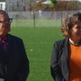 Miner, DeFrancisco dedicate new soccer fields at Schiller Park