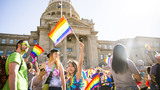 Photos: Idaho capital gets a splash of color for Boise Pridefest 2018