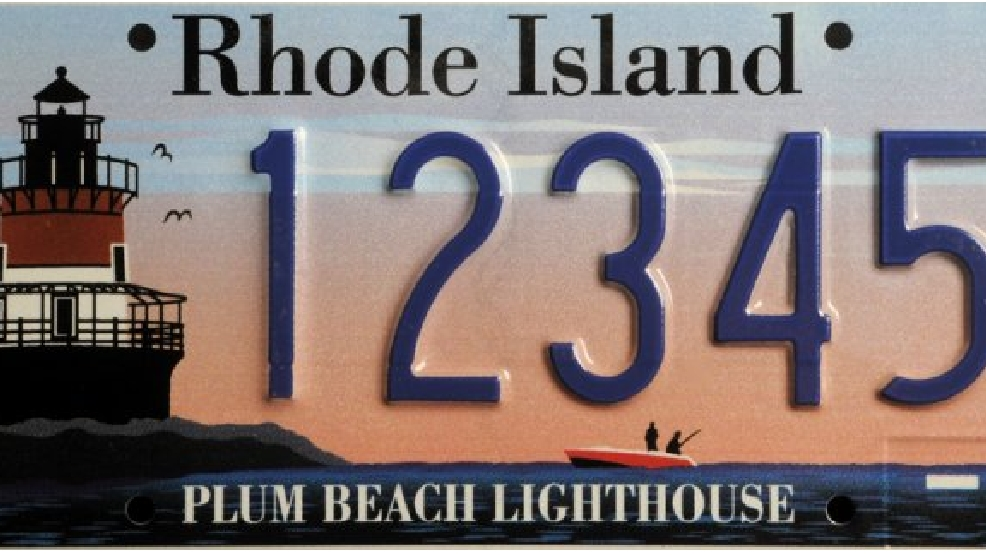 Rhode Island Offers New Specialty License Plates Wjar