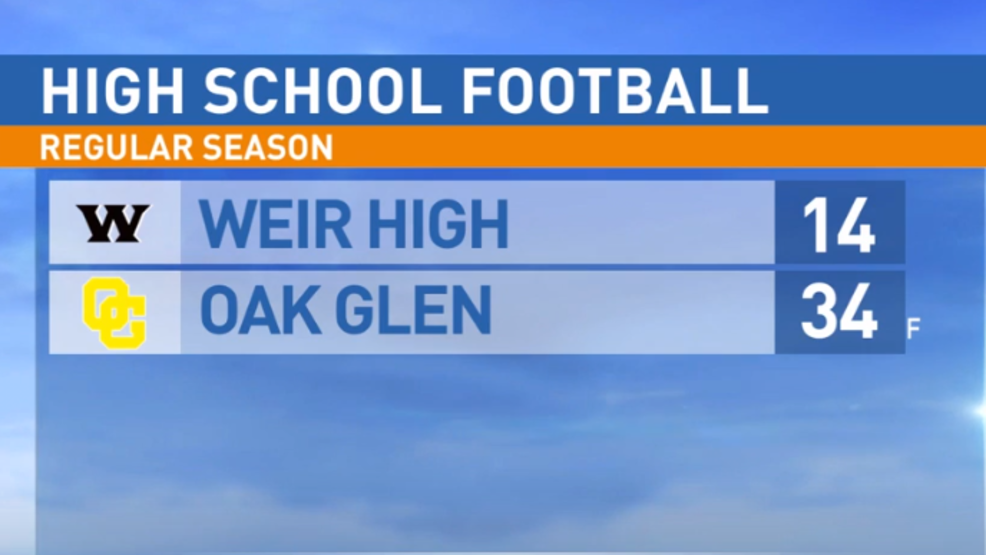 8.30.19: Weir High at Oak Glen