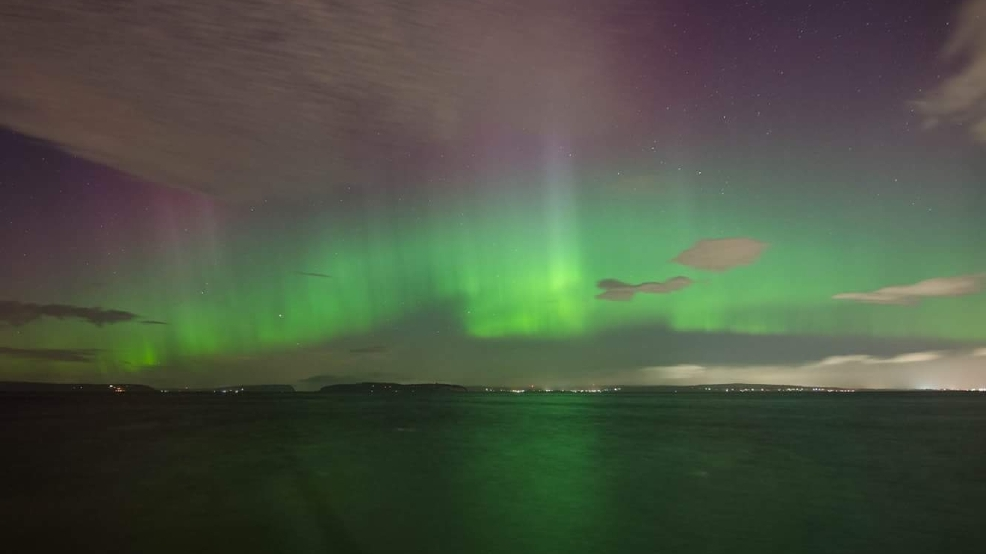 Epic Northern Lights show dazzles Puget Sound region