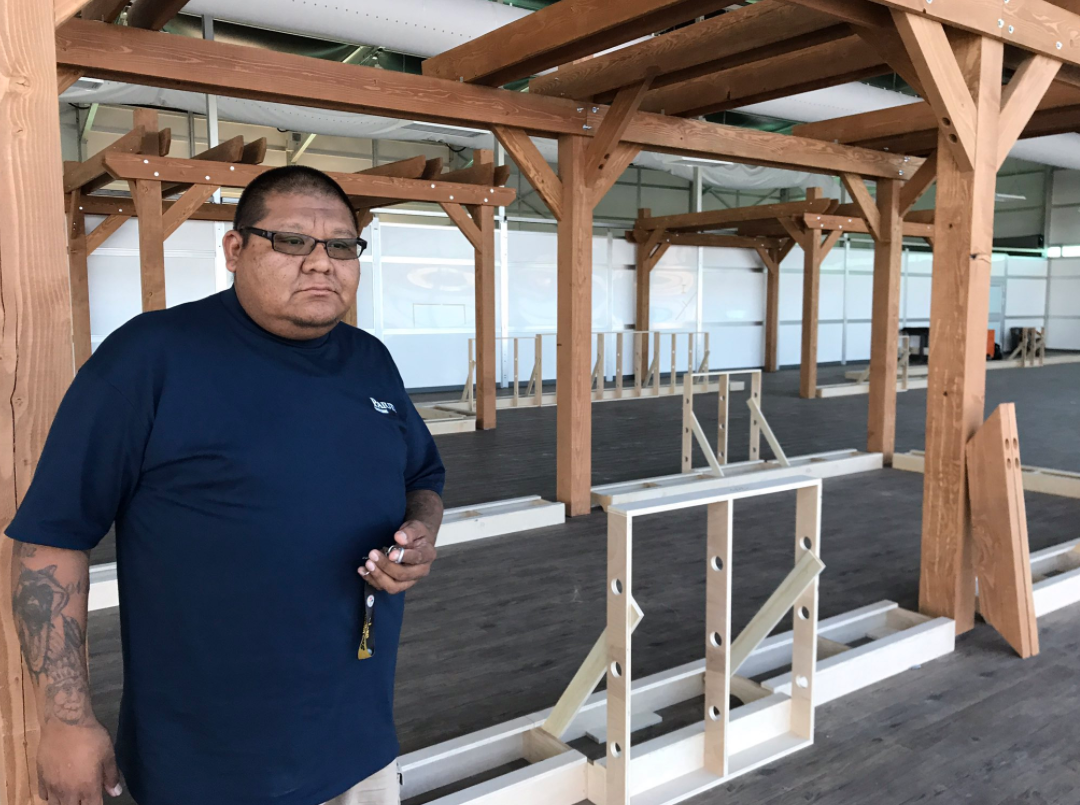 A look inside the Las Vegas Paiute Tribe's newest venture: marijuana. 8/6/17 (Nathan O'Neal | KSNV)