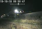 INTENSE VIDEO UHP trooper risks life to save driver stranded on train tracks UHP (3).JPG