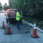 Sinkhole prompts road closures in Palm Beach