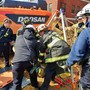 DC construction worker rescued from bottom of 12-foot pit