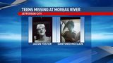 Police: Two teens missing, may have jumped into Moreau River