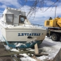 Abandoned boat pulled out of Oneida Lake four months after crash