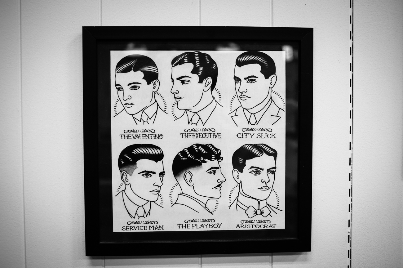 Clifton Barbers is under new ownership, inviting walk-in customers to experience classic hair styling in a friendly atmosphere filled with vintage barbershop charm. The shop is located in the heart of Clifton's Gaslight District, at 337 Ludlow Avenue, and open 10am-7pm Monday through Friday and 10am-3pm Saturdays. / Image: Melissa Doss Sliney // Published: 3.13.17