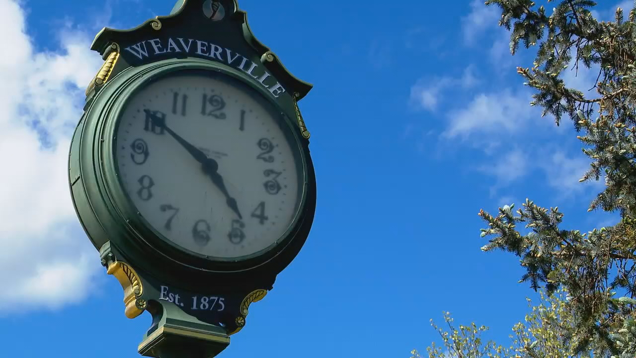 FILE - The town of Weaverville (Photo credit: WLOS staff)