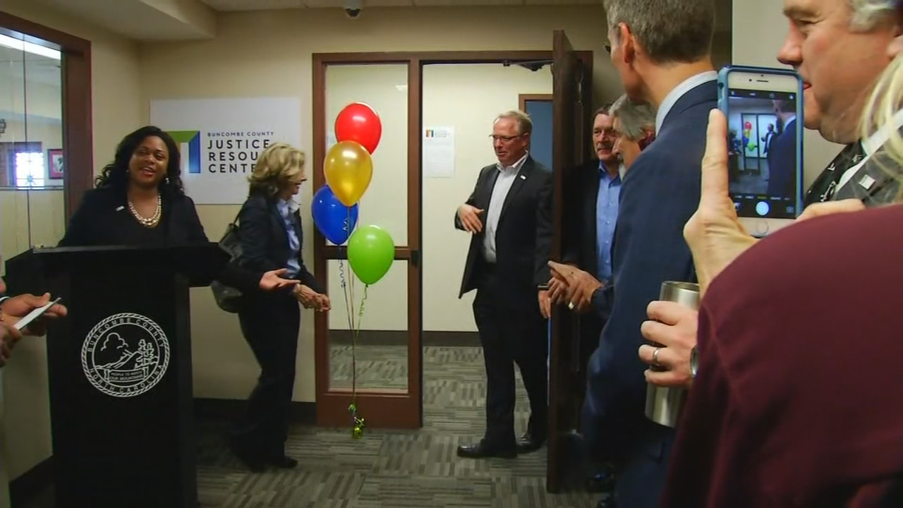 Buncombe County leaders hope the courthouse will become a place where nonviolent offenders can get the help they need to turn their lives around through the new Justice Resource Center. (Photo credit: WLOS Staff)