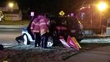 Marion police investigate two car crash Monday night