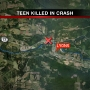 Woman, 18, dies in car crash near Lyons