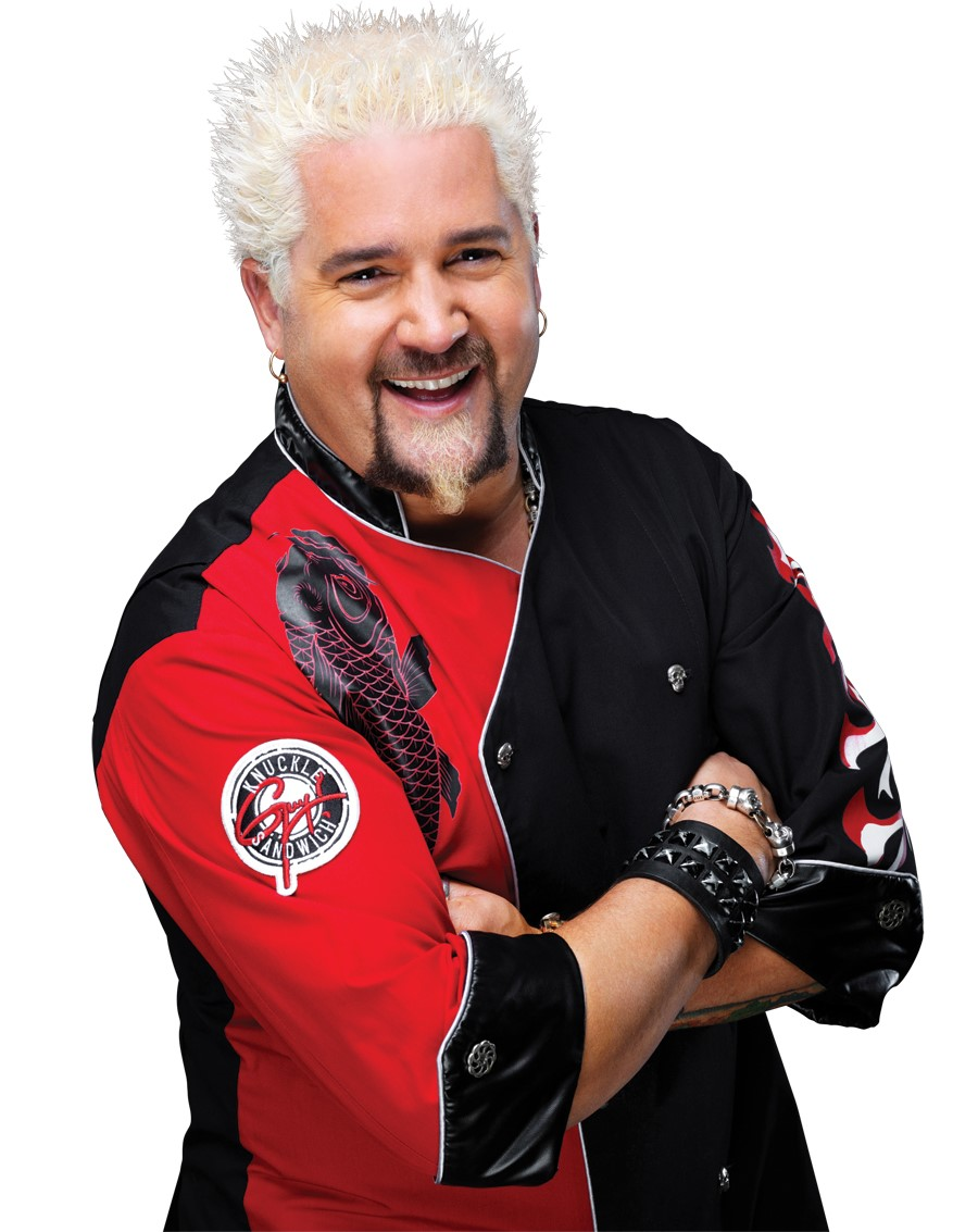 Guy Fieri (Photo courtesy: MetroCooking DC)<p></p>