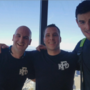 Local firefighters climb the Columbia Tower for a cure