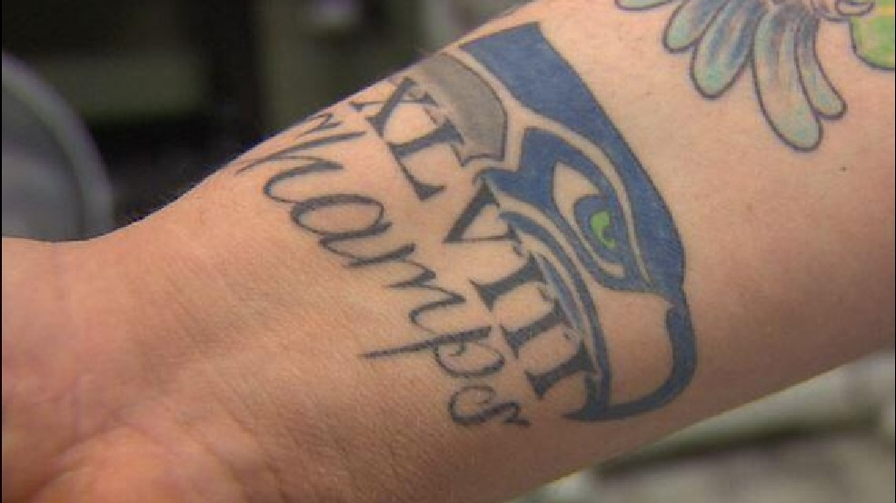 seahawks tattoos fans show loyalty with permanent ink komo